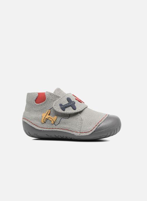 Chaussures à scratch Primigi Tore Gris vue derrière