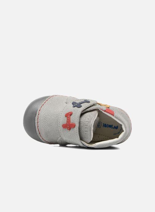 Chaussures à scratch Primigi Tore Gris vue gauche