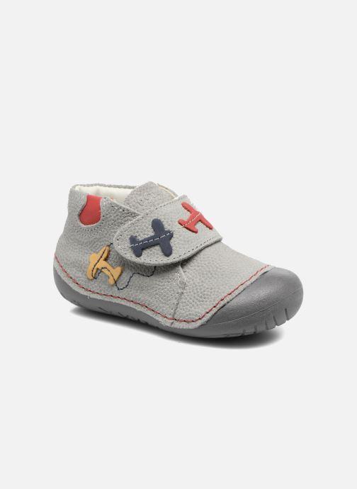 Chaussures à scratch Primigi Tore Gris vue détail/paire