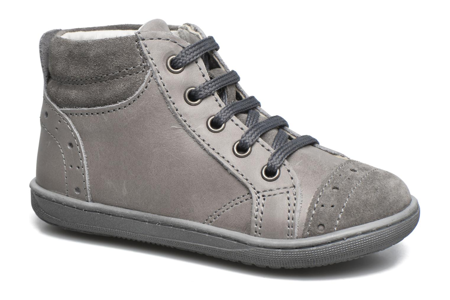 Trainers Primigi Ambra Grey detailed view/ Pair view