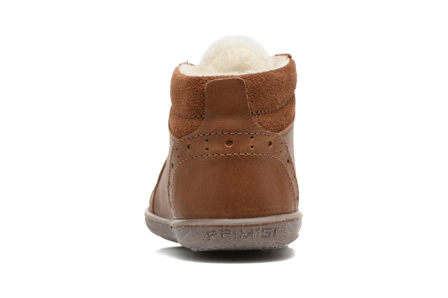 Trainers Primigi Ambra Brown view from the right