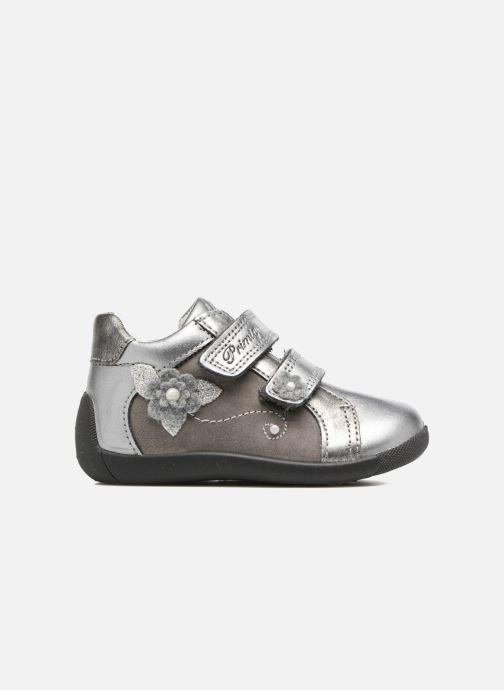 Zapatos con velcro Primigi Gabelica Plateado vistra trasera