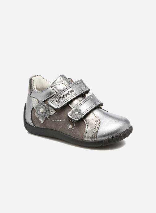 Zapatos con velcro Primigi Gabelica Plateado vista de detalle / par