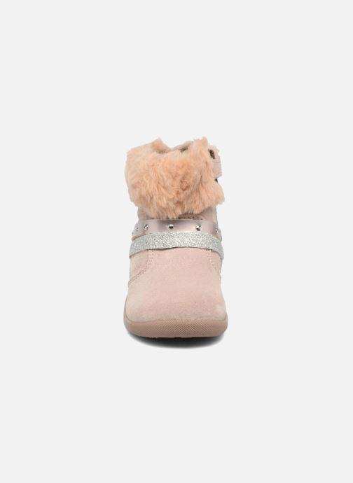 Bottes Primigi Angelica Rose vue portées chaussures