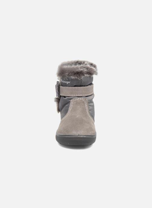 Bottes Primigi Katerina Gris vue portées chaussures