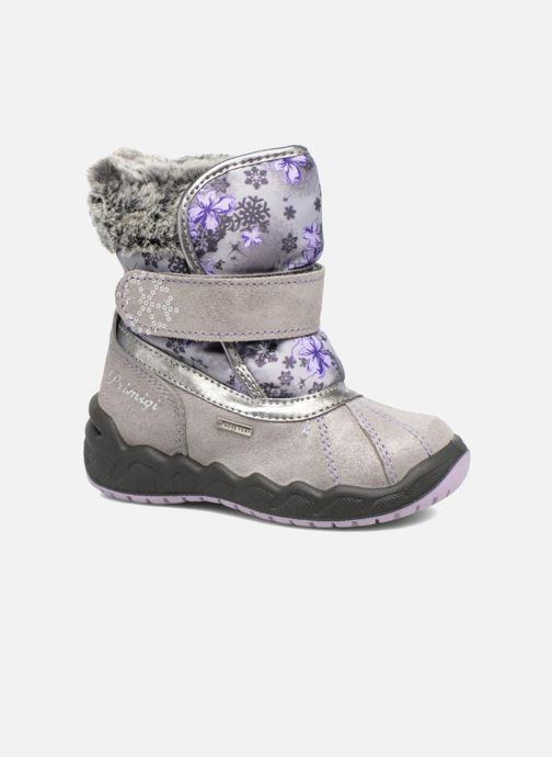 Chaussures de sport Primigi Gigi Gris vue détail/paire