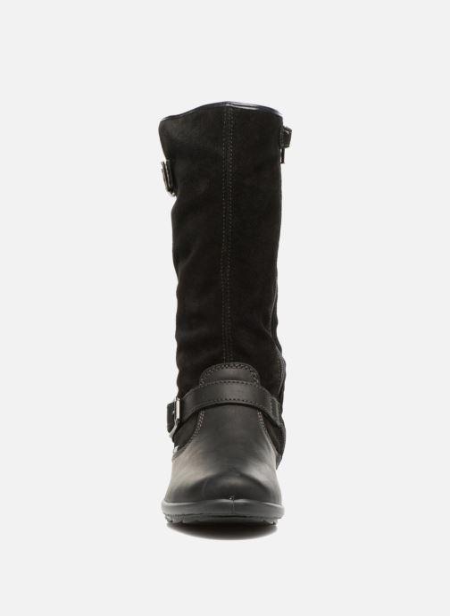 Bottes Primigi Marta GTX Noir vue portées chaussures