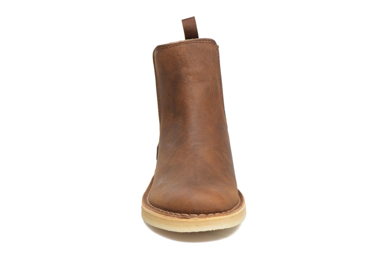 Ankle boots Clarks Originals DESERT PEAK W Brown model view
