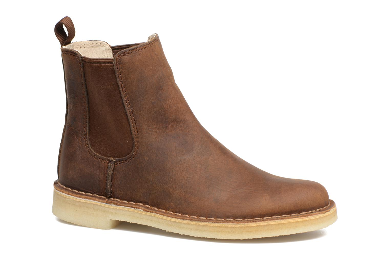 Ankle boots Clarks Originals DESERT PEAK W Brown detailed view/ Pair view