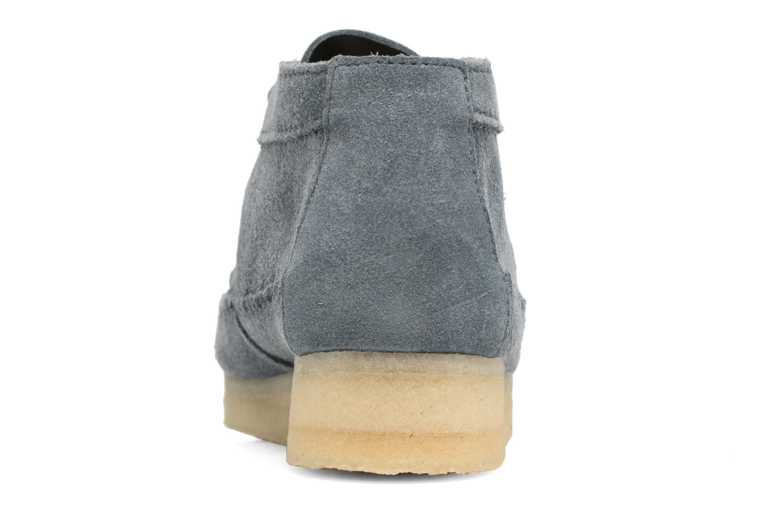 Ankle boots Clarks Originals WEAVER BOOT W Blue view from the right
