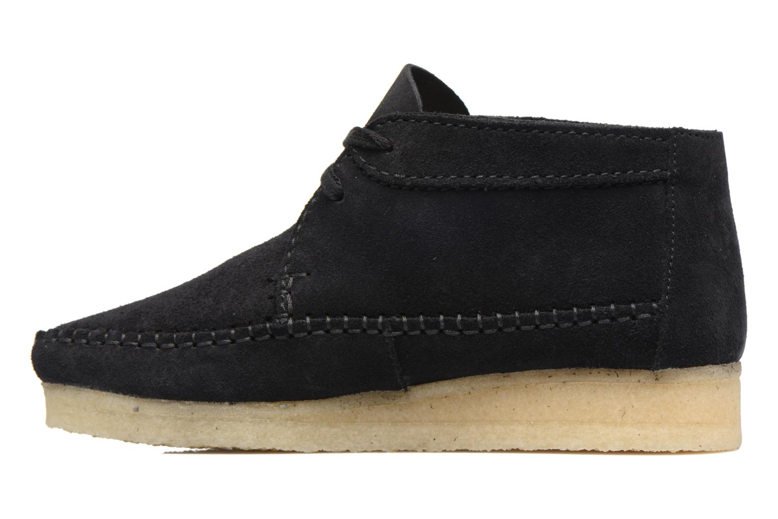 Ankle boots Clarks Originals WEAVER BOOT W Black front view