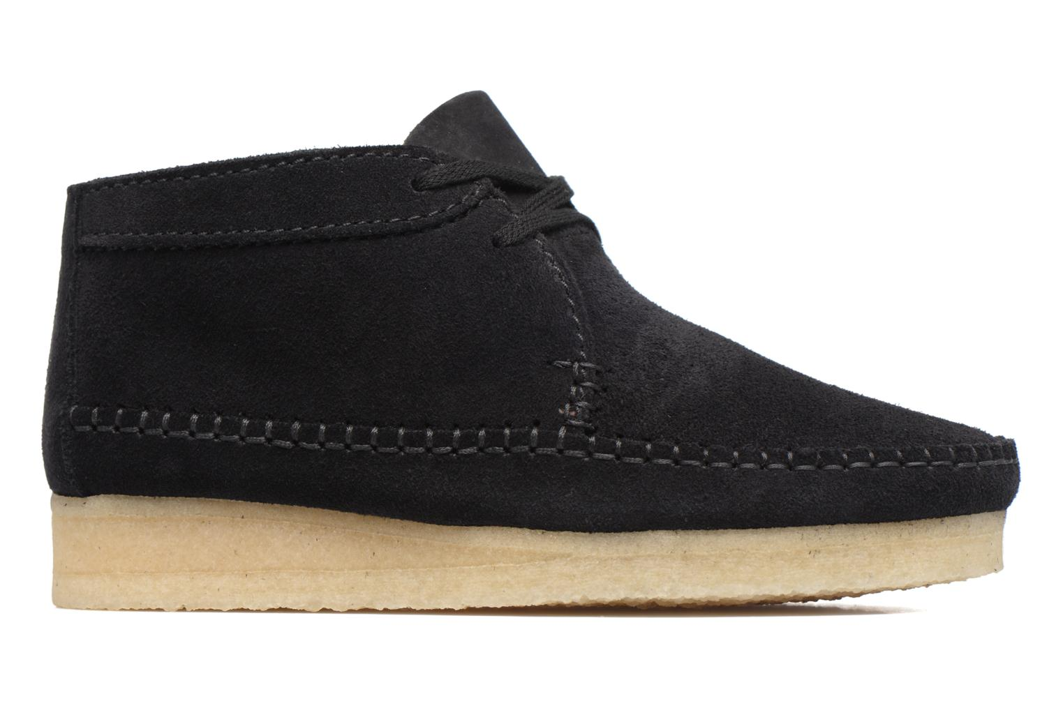 Ankle boots Clarks Originals WEAVER BOOT W Black back view