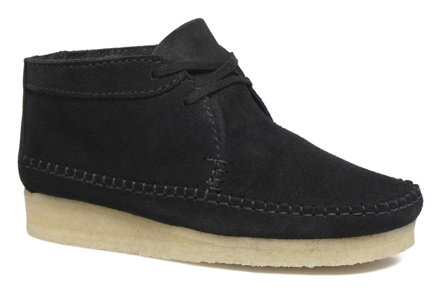 Ankle boots Clarks Originals WEAVER BOOT W Black detailed view/ Pair view