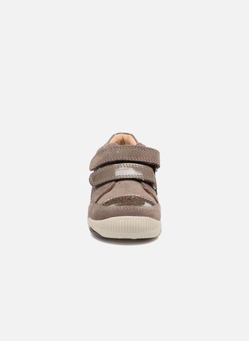 Baskets Geox B N. Balu G. C B740QC Gris vue portées chaussures