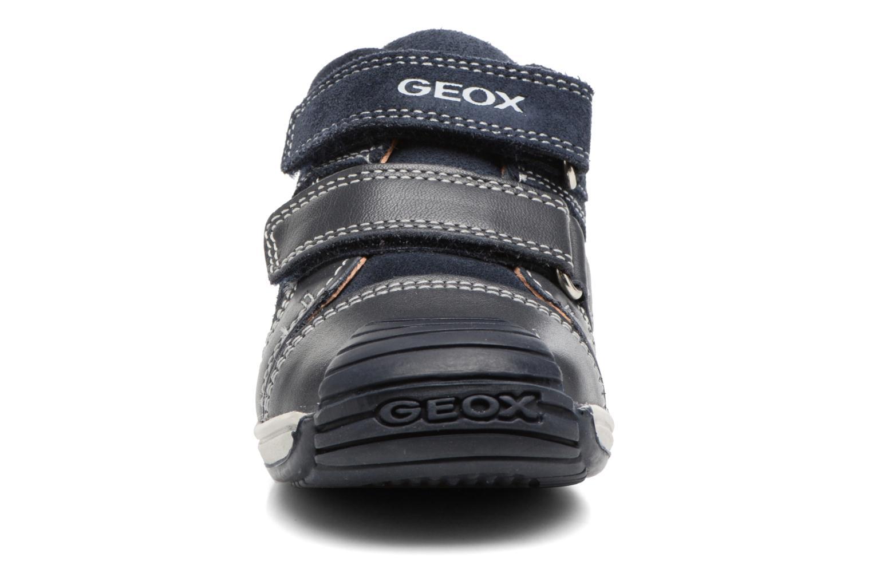 Baskets Geox B Toledo B. B B7446B Bleu vue portées chaussures