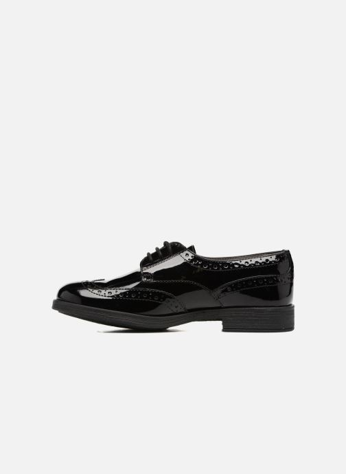 Zapatos con cordones Geox J Agata C J3449C Negro vista de frente