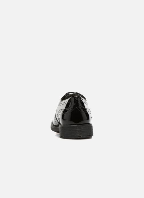 Zapatos con cordones Geox J Agata C J3449C Negro vista lateral derecha