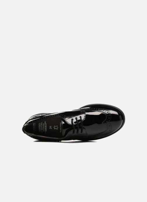 Zapatos con cordones Geox J Agata C J3449C Negro vista lateral izquierda