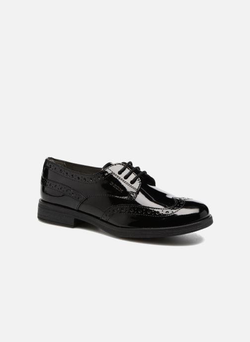 Zapatos con cordones Geox J Agata C J3449C Negro vista de detalle / par