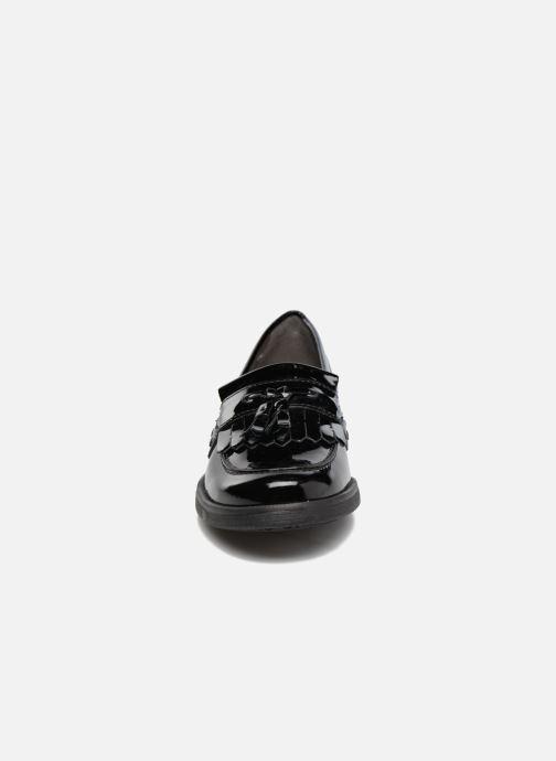 Mocassins Geox J Agata A J4449A Noir vue portées chaussures
