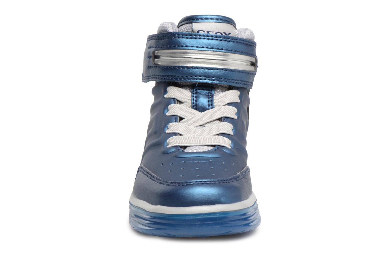 Baskets Geox J Argonat B. B J7429B Bleu vue portées chaussures