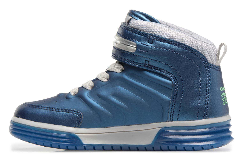 Baskets Geox J Argonat B. B J7429B Bleu vue face