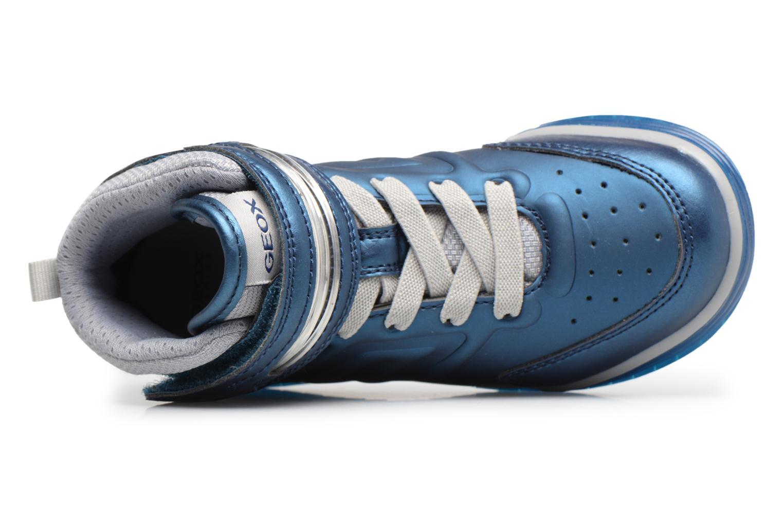 Baskets Geox J Argonat B. B J7429B Bleu vue gauche