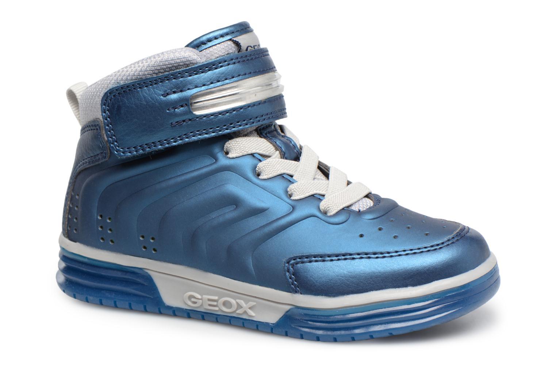 Baskets Geox J Argonat B. B J7429B Bleu vue détail/paire