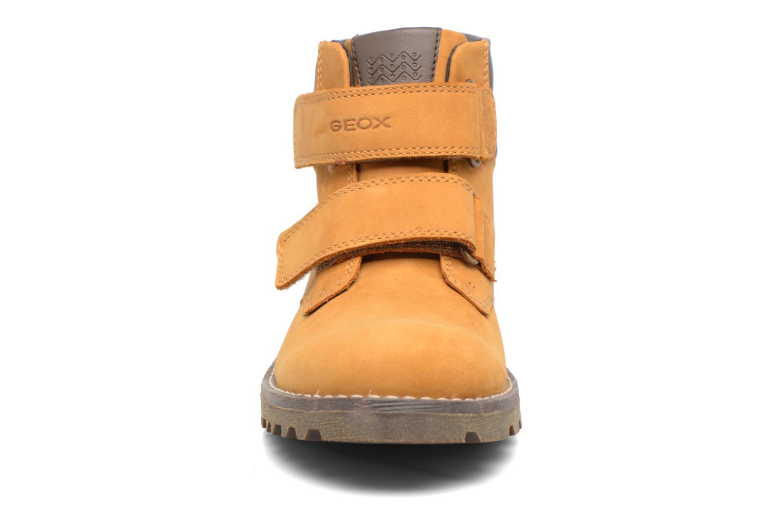Bottines et boots Geox J Axel B. Wpf C  J743DC Marron vue portées chaussures