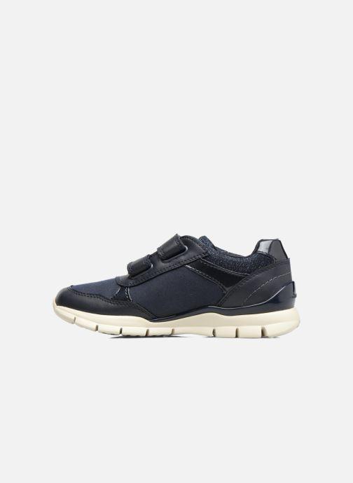 Sneakers Geox J Sukie G. B  J743GB Azzurro immagine frontale