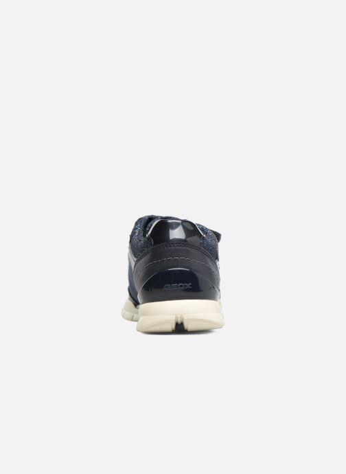 Sneakers Geox J Sukie G. B  J743GB Azzurro immagine destra