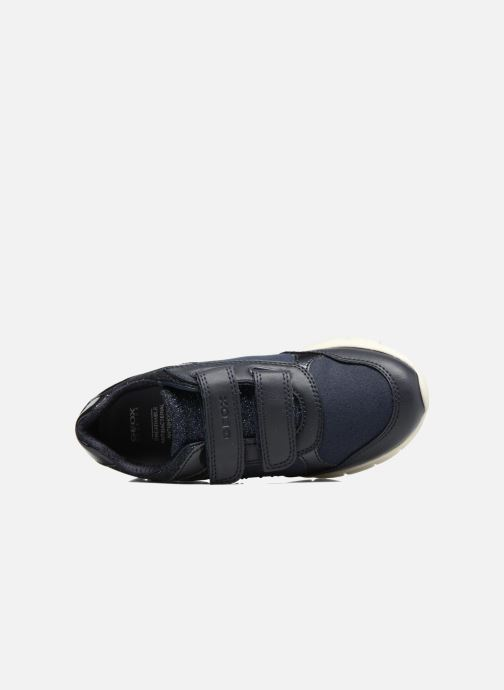 Sneakers Geox J Sukie G. B  J743GB Azzurro immagine sinistra
