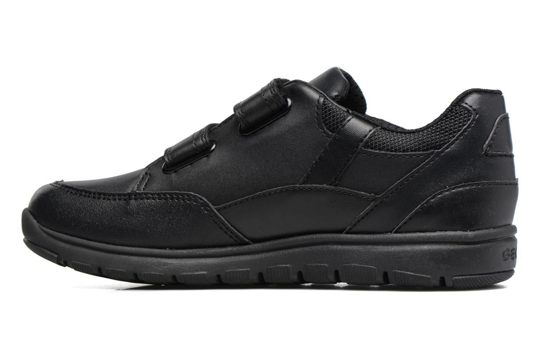 Sneakers Geox J Xunday B. B  J743NB Zwart voorkant