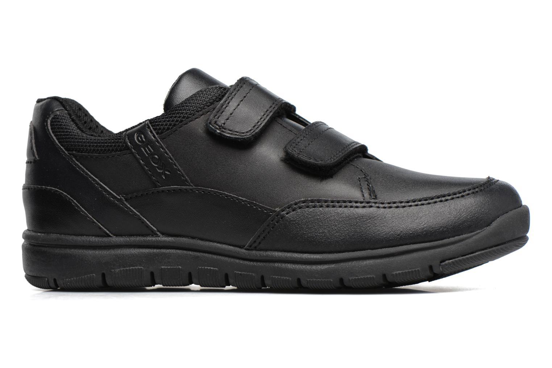 Sneakers Geox J Xunday B. B  J743NB Zwart achterkant