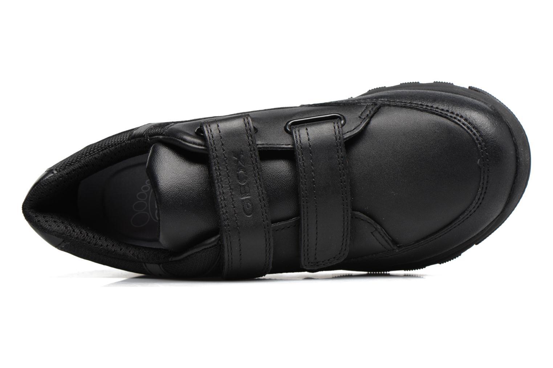 Sneakers Geox J Xunday B. B  J743NB Zwart links