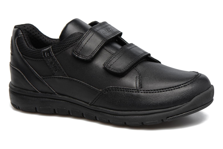 Sneakers Geox J Xunday B. B  J743NB Zwart detail