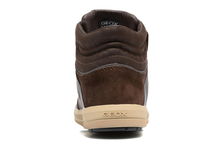 Sneakers Geox J Arzach B. C  J744AC Bruin rechts