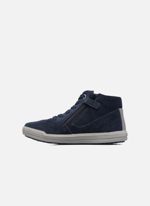 Sneakers Geox J Arzach B. H  J744AH Azzurro immagine frontale