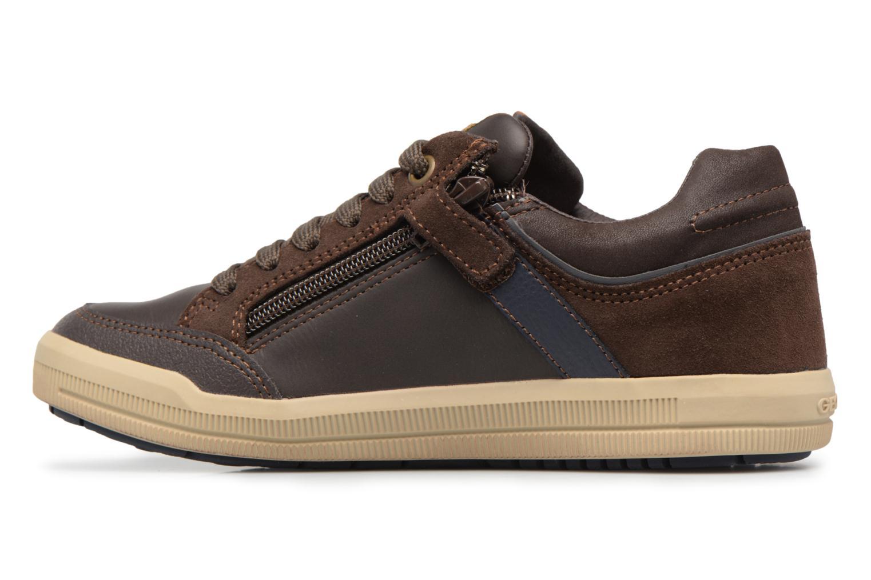 Sneaker Geox J Arzach B. I  J744AI braun ansicht von vorne