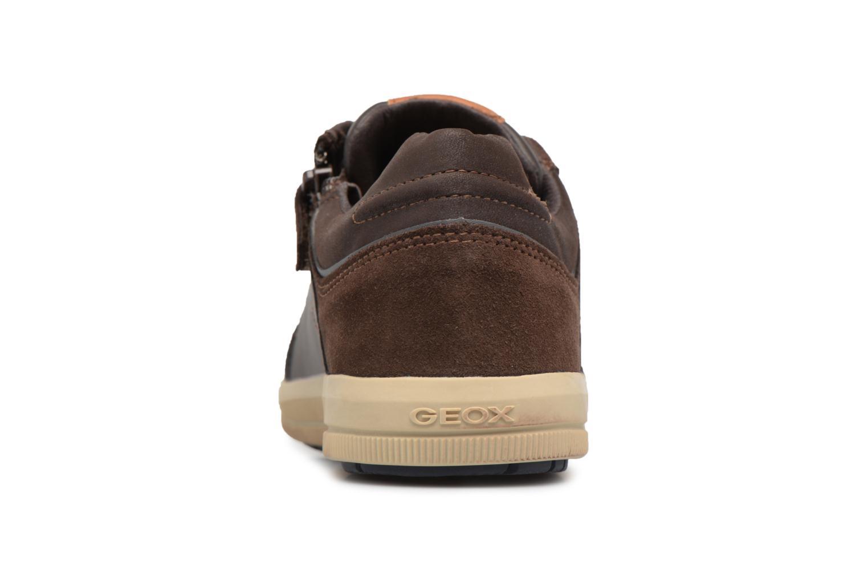 Sneaker Geox J Arzach B. I  J744AI braun ansicht von rechts