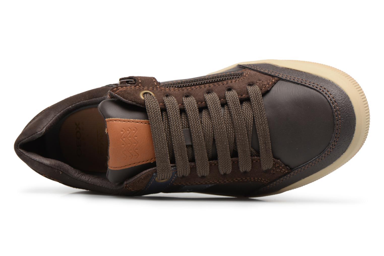 Sneaker Geox J Arzach B. I  J744AI braun ansicht von links