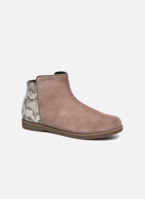 Bottines et boots Geox J Shawntel G. D J744ED Beige vue détail/paire