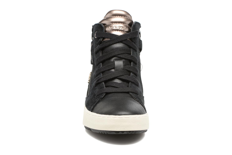 Baskets Geox J Kalispera G.D J744GD Noir vue portées chaussures