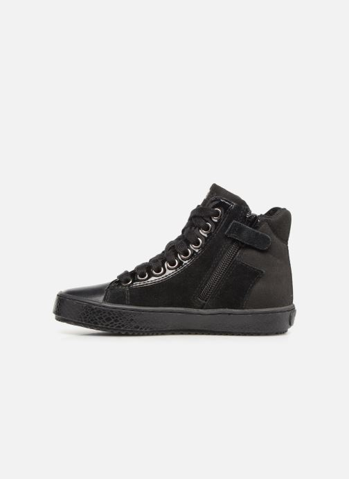 Sneakers Geox J Kalispera G.E J744GE Zwart voorkant