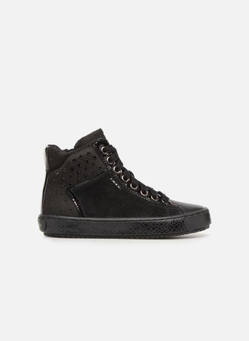 Sneakers Geox J Kalispera G.E J744GE Zwart achterkant