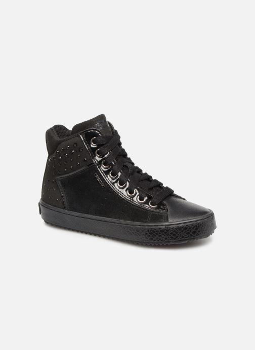 Sneakers Geox J Kalispera G.E J744GE Zwart detail