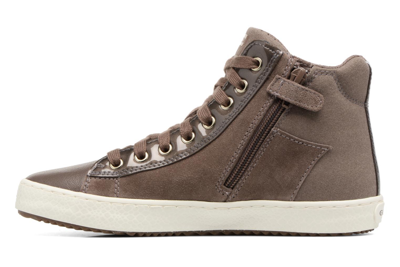 Sneakers Geox J Kalispera G.E J744GE Beige voorkant