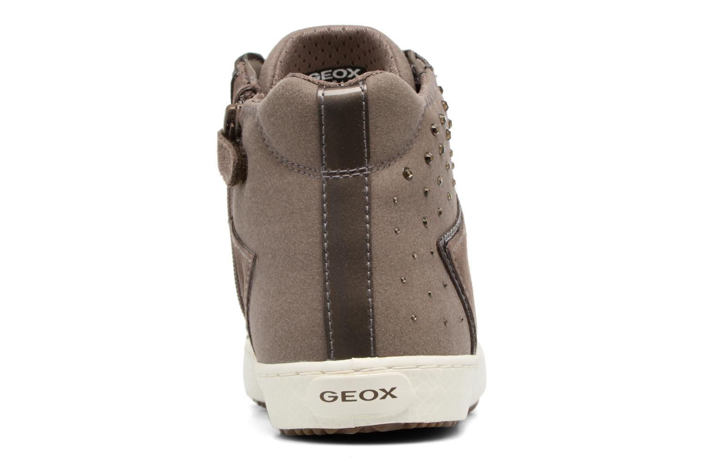 Sneakers Geox J Kalispera G.E J744GE Beige rechts