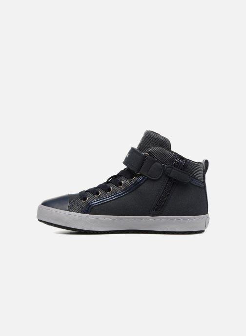 Sneakers Geox J Kalispera G.I J744GI Azzurro immagine frontale