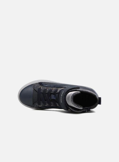 Sneakers Geox J Kalispera G.I J744GI Azzurro immagine sinistra